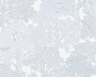 Architects Paper Обои «Флора, Белые, Серыe» 377536