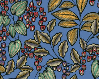 Architects Paper Обои «Флора, Разноцветные, Синие» 377541