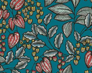 Architects Paper Vliestapete «Floral, Bunt, Grün» 377542
