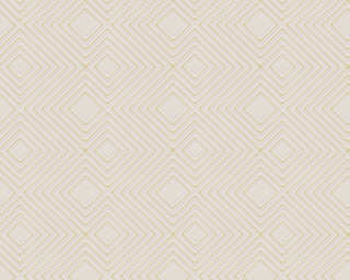 A.S. Création Wallpaper «Graphics, Beige, Cream, Metallic» 377582