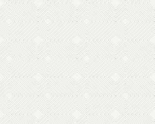 A.S. Création Tapete «Grafik, Metallics, Weiß» 377585
