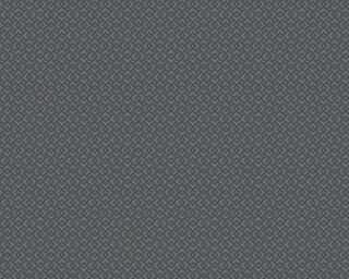 A.S. Création papier peint «Graphique, métallique, noir» 377591