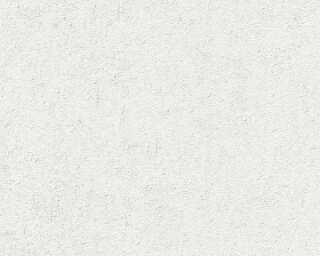 A.S. Création Tapete «Uni, Grau, Weiß» 377642