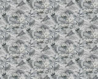 A.S. Création Tapete «Floral, Grau, Schwarz, Weiß» 377821