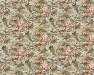 A.S. Création Wallpaper «Floral, Coloured, Green, Pink» 377823