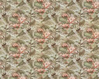 A.S. Création Tapete «Floral, Bunt, Grün, Rosa» 377823