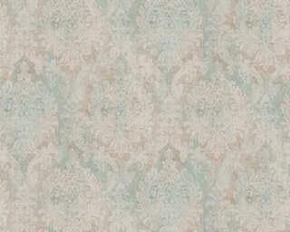 A.S. Création Wallpaper «Baroque, Blue, Green, Metallic» 377854