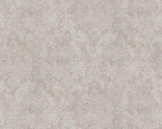 A.S. Création papier peint «Baroque, gris, marron, métallique» 377855
