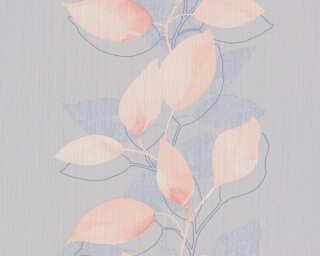 A.S. Création Tapete «Floral, Grau, Orange, Violett» 378153