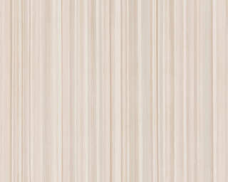 A.S. Création Wallpaper «Stripes, Beige, Brown, Cream» 378173