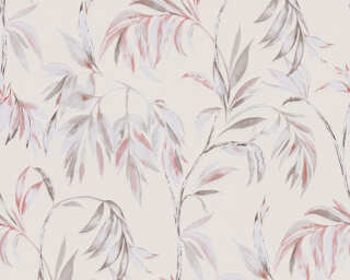 A.S. Création Wallpaper «Floral, Beige, Brown, Red» 378304