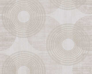 A.S. Création Wallpaper «Graphics, Beige, Brown» 378323