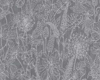 A.S. Création Tapete «Floral, Schwarz» 378344