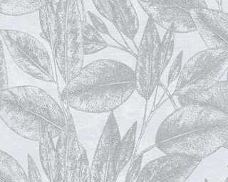 A.S. Création Обои «Флора, Металлик, Серыe, Синие» 378362