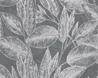 A.S. Création Tapete «Floral, Metallics, Schwarz» 378364