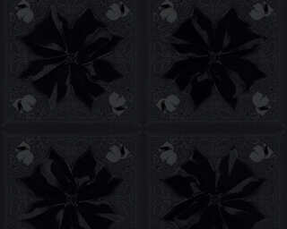 Karl Lagerfeld Tapete «Barock, Schwarz» 378453