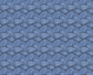 Karl Lagerfeld Обои «Графика, Металлик, Синие, Черные» 378474