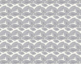 Karl Lagerfeld Tapete «Grafik, Metallics, Schwarz, Weiß» 378476