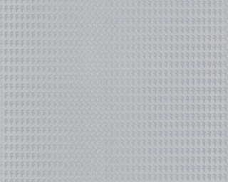 Karl Lagerfeld Wallpaper «Uni, Grey, Metallic» 378505