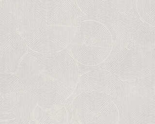 Livingwalls Wallpaper «Cottage, Grey, Metallic, White» 379001