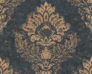Livingwalls Wallpaper «Baroque, Beige, Blue, Brown» 379012