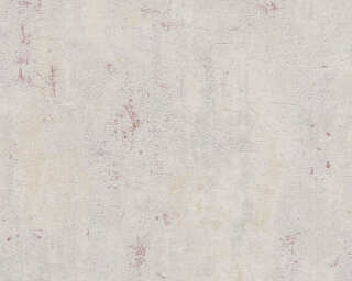 Livingwalls Wallpaper «Uni, Beige, Grey, Red» 379035