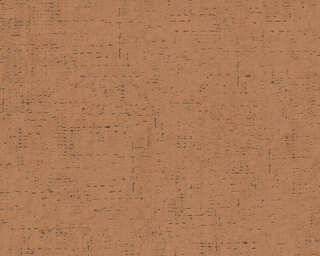 Livingwalls Wallpaper «Uni, Brown, Orange» 379045