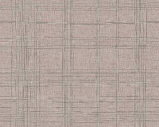 Livingwalls Tapete «Grafik, Beige, Metallics» 379192