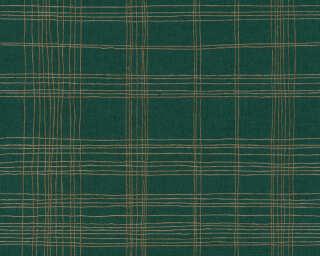 Livingwalls Обои «Графика, Зеленые, Металлик» 379193
