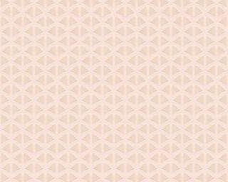 A.S. Création флизелин «Графика, Кремовые, Металлик, Розовые» 379572