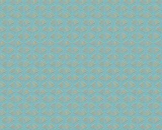 A.S. Création флизелин «Графика, Зеленые, Металлик, Синие» 379574