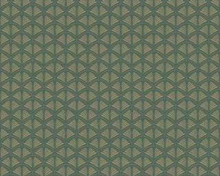 A.S. Création флизелин «Графика, Зеленые, Металлик» 379575