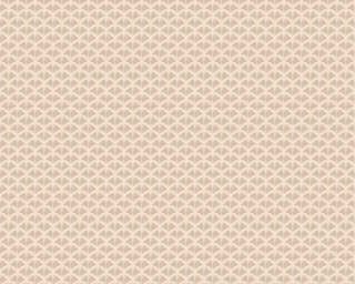 A.S. Création флизелин «Графика, Кремовые, Металлик, Розовые» 379582