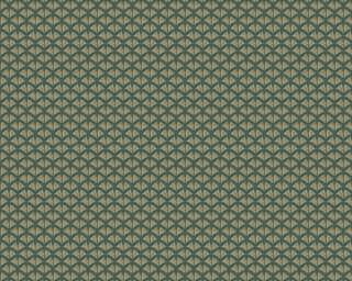 A.S. Création флизелин «Графика, Зеленые, Металлик» 379585
