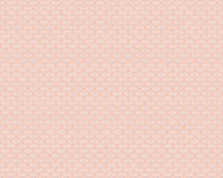 A.S. Création флизелин «Графика, Белые, Розовые» 379586
