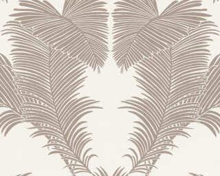 A.S. Création Vliestapete «Floral, Metallics, Weiß» 379592