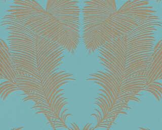 A.S. Création Vliestapete «Floral, Blau, Grün, Metallics» 379594
