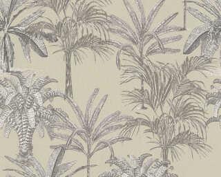 MICHALSKY LIVING papier peint intissé «Floral, beige» 379831