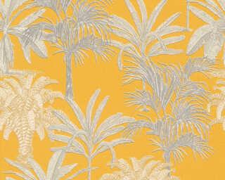 MICHALSKY LIVING papier peint intissé «Floral, jaune» 379833