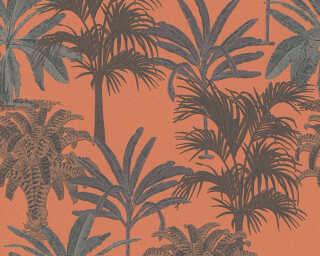 MICHALSKY LIVING papier peint intissé «Floral, marron, orange» 379834