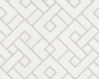 MICHALSKY LIVING флизелин «Графика, Белые, Кремовые» 379841