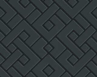 MICHALSKY LIVING флизелин «Графика, Металлик, Черные» 379844