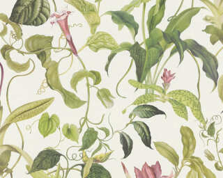 MICHALSKY LIVING флизелин «Флора, Зеленые, Кремовые, Розовые» 379881