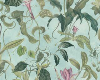 MICHALSKY LIVING флизелин «Флора, Зеленые, Розовые, Синие» 379882