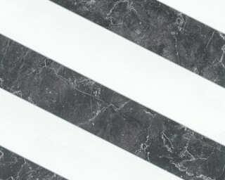 MICHALSKY LIVING papier peint intissé «Marbre, blanc, noir» 379921