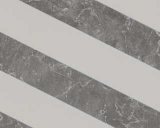 MICHALSKY LIVING papier peint intissé «Marbre, gris» 379922