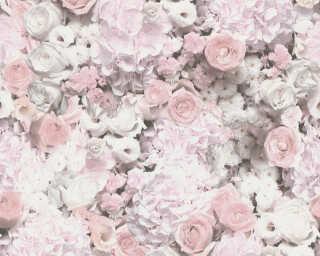 A.S. Création Vliestapete «Floral, Violett, Weiß» 380082