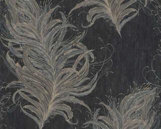 Livingwalls флизелин «Барокко, Серыe, Черные» 380094