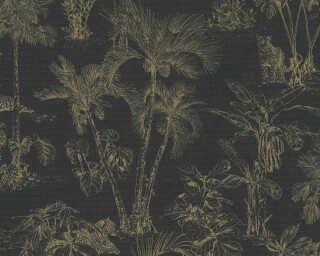A.S. Création флизелин «Графика, Металлик, Черные» 380215