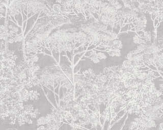 A.S. Création Tapete «Grafik, Creme, Grau, Metallics» 380231
